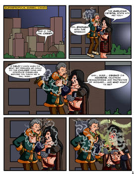 Glenmetropolis Chapter One, Page One - Cartoon