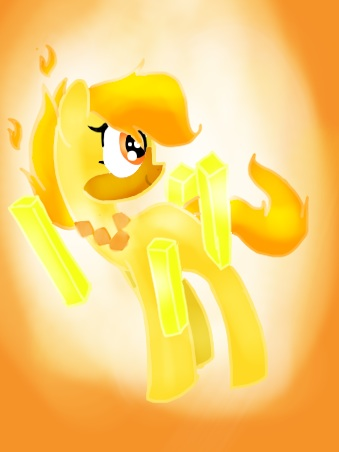 minecraft themed pony oc by djcitrine on deviantart