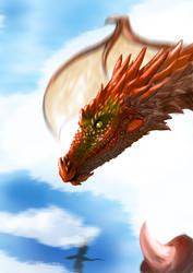 Red Dragon by Yu-Ominae