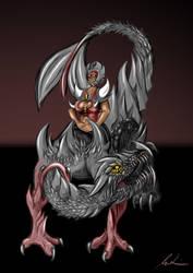 Dragon Rider by Yu-Ominae