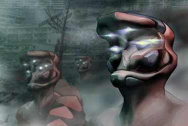 Cyborgs by Yu-Ominae
