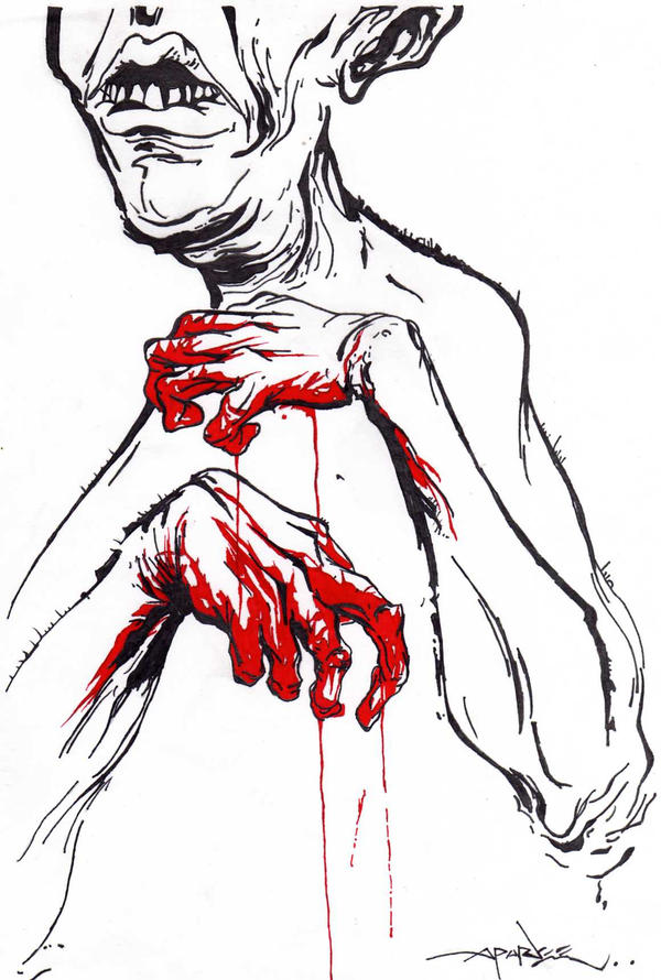 Red Handed 2 - Alex Pardee by iMegZy