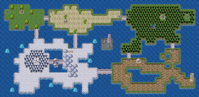 Overworld Map WIP 1 by DemonHuntRPG