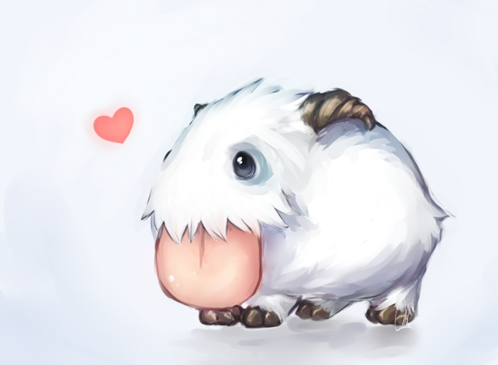I Luv U Poro by Rayamira on DeviantArt