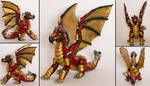 Dragon sculpture by RetardedDogProductns