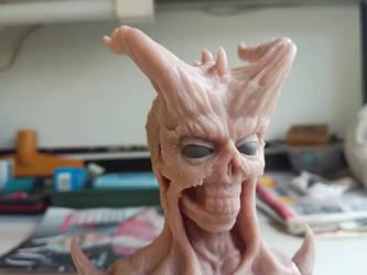 Demon bust #5 by RetardedDogProductns