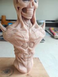 Demon bust #6 by RetardedDogProductns