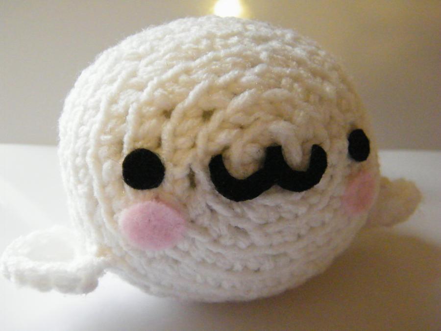 CROCHET PATTERN - SNOWY the Seal Amigurumi doll / Stuffed Doll ... | 675x900