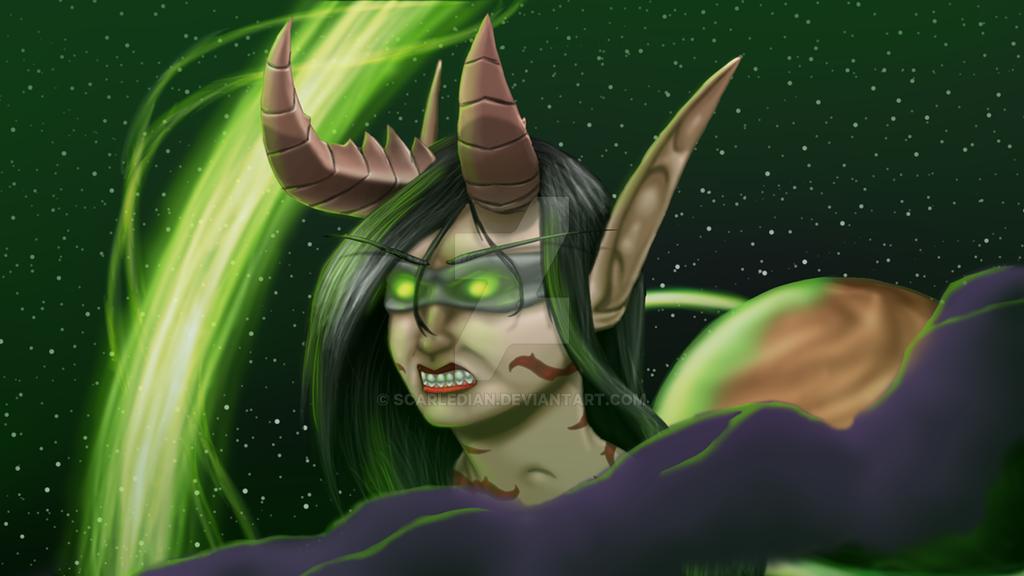 Demon Hunter by Scarledian