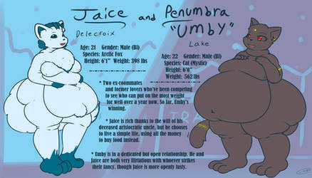 Jaice and Umby Ref (Redesign)