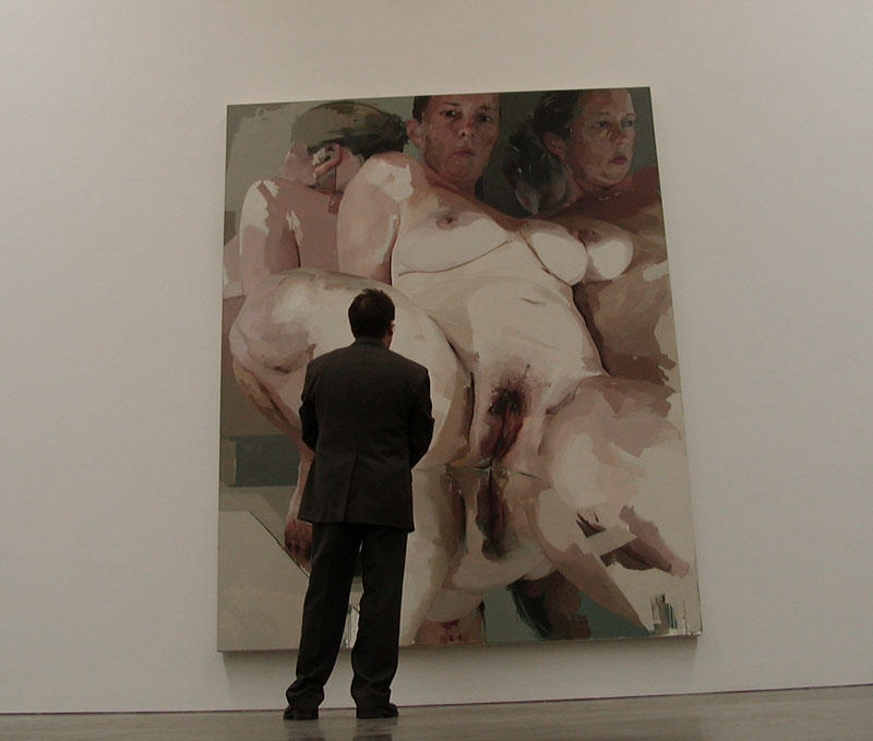 What mediums does jenny saville use in her paintings? - Yahoo! Answers