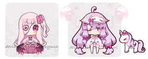 .: Lingerie Ghoulies adopts  :. {closed} by Haruyuun