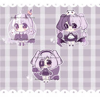 [closed] Ghoulie adopt batch set price by Haruyuun