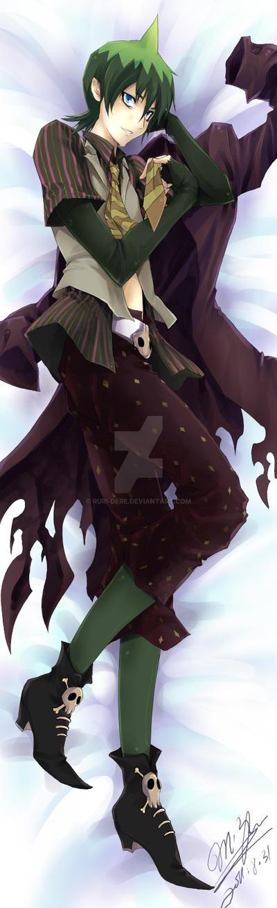 Commission Pillow:Amaimon by Ruri-dere