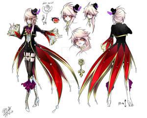 Seine Lucius OC Concept Art