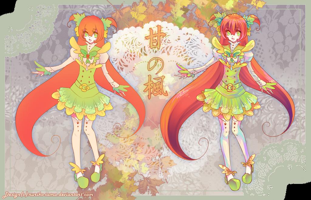 [SALE]Maple Syrup School Girl-Adoptable SALE by Ruriko-sama