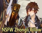 Pillar Zhongli Pillow by Ruri-dere