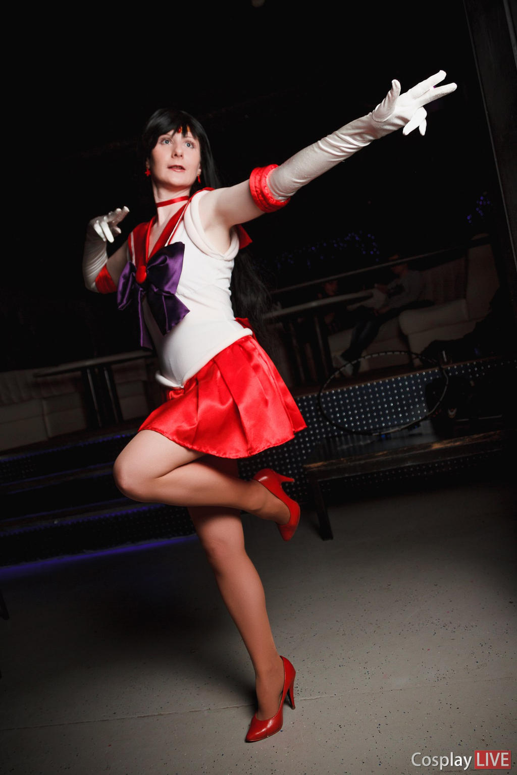 Passionate Sailor Mars by LoveSenshi