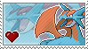 Salamence Stamp by Porygon-Z