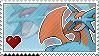 Salamence Stamp