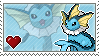 Vaporeon Stamp by Porygon-Z