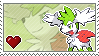 """Skymin"" Stamp by Porygon-Z"