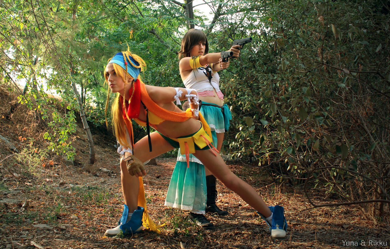 Let's go to fight, Rikku by YunaB-Rabbit