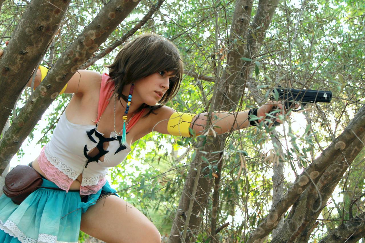 Final Fantasy X-2 Fight by YunaB-Rabbit