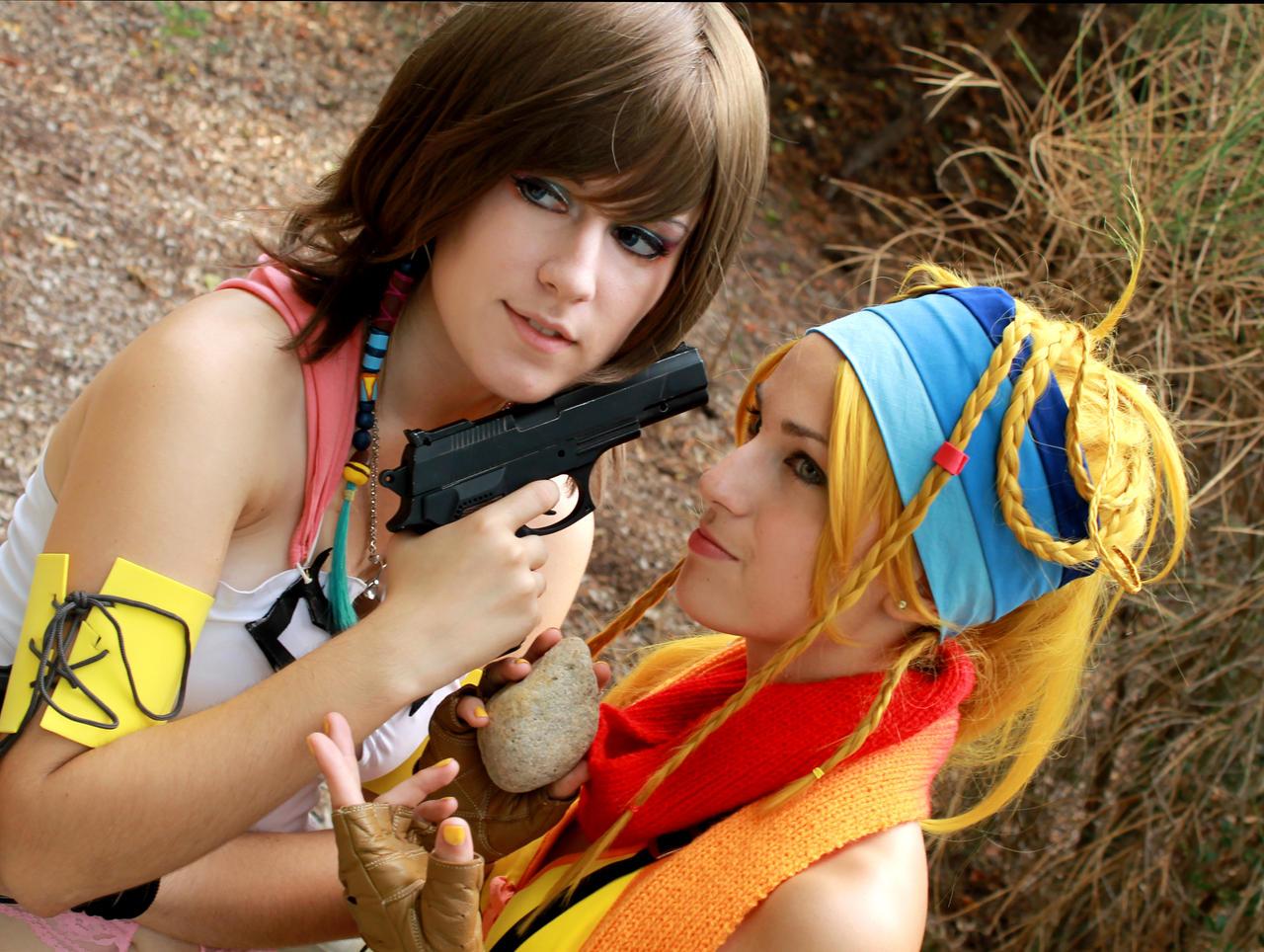 Watch out, my friend [FFX-2] by YunaB-Rabbit