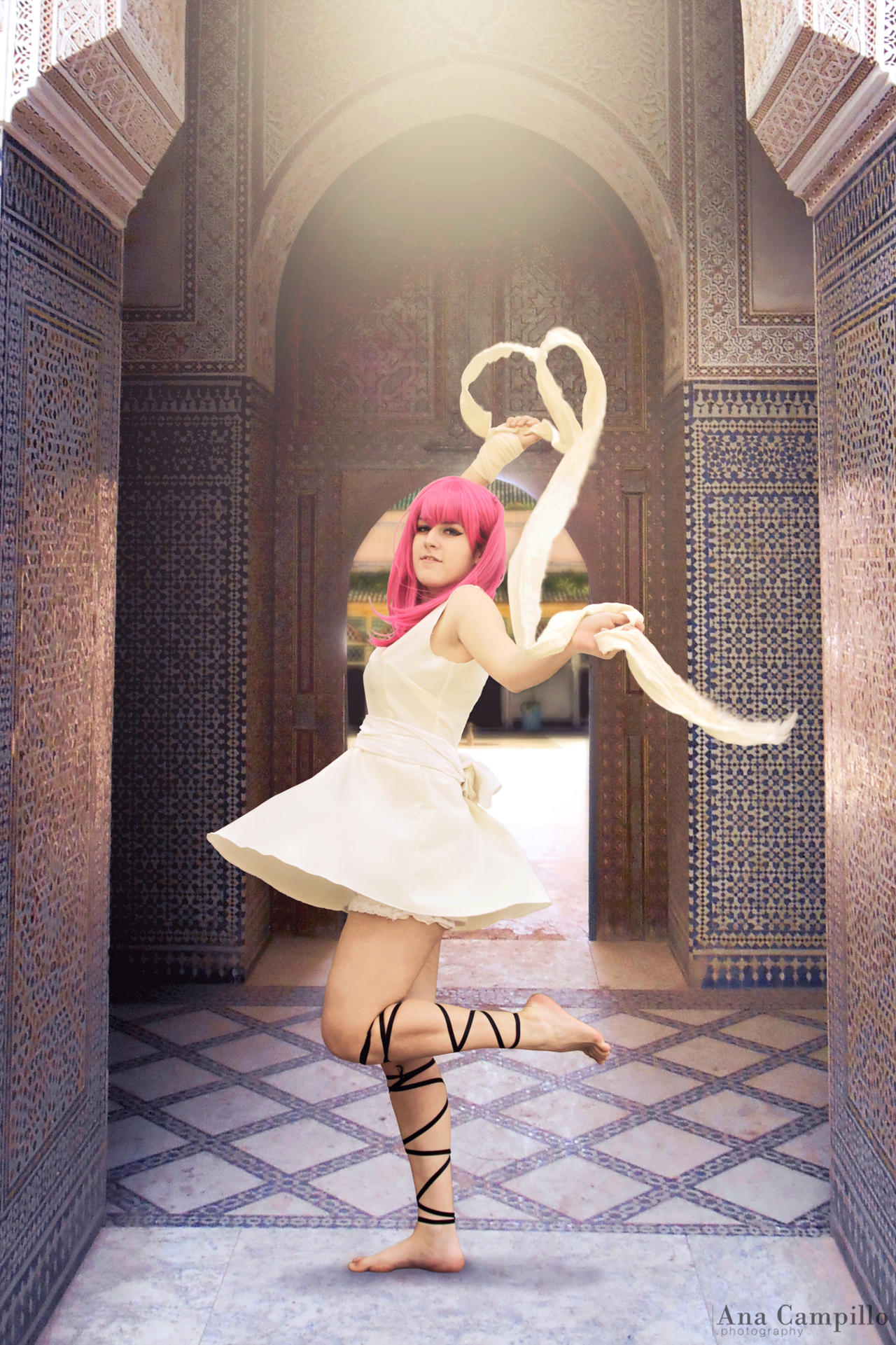 [Magi] Morgiana, the Fanalis by YunaB-Rabbit