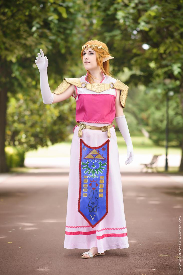 [The Legend of Zelda] Zelda, princess of Hyrule by YunaB-Rabbit