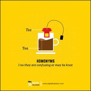 Homonyms   Poster Design