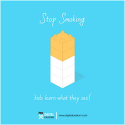 Stop Smoking | Poster Design