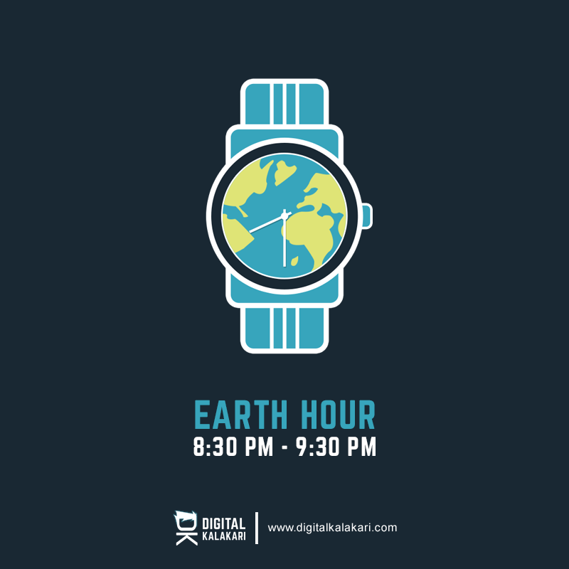 Earth Hour | Poster Design