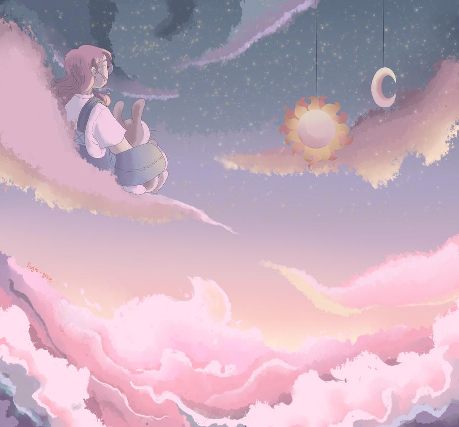 cloud escape by sugoigrove