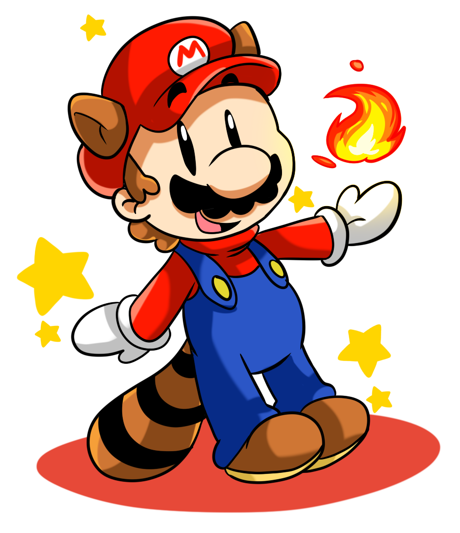 Easy Drawings Of Mario For Kids