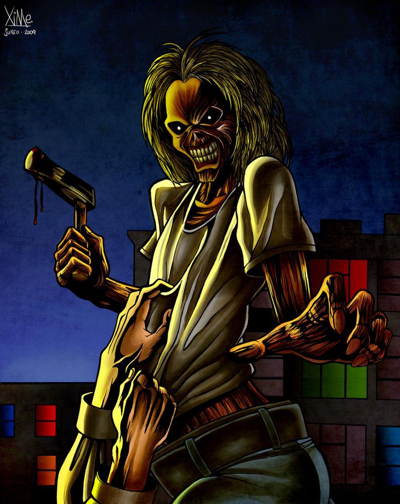 Iron Maiden - Killers by XimeniSHA