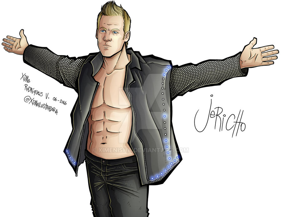 Chris Jericho by XimeniSHA