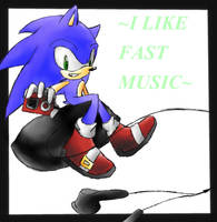 i like fast music by RetroTrickster