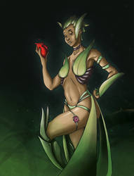 Anmanda, Seductrice sylvestre