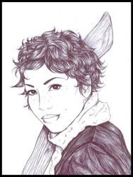 Roxanne Weasley by ericahpfa