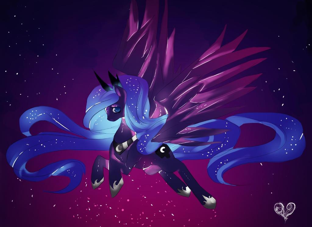 Princess Luna by MikeruMorino