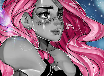 Anime girl by MikeruMorino