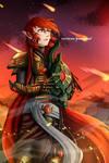 Commission: Warhammer 40k, Macha by PixieInktvis