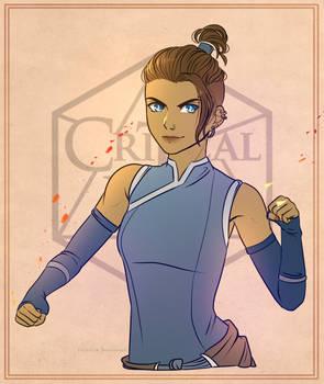 Patreon Sketch: Critical Role Beauregard x Korra