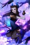 Fanart: World of Warcraft Shadowlands Niya
