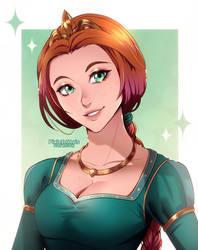 Fanart: Fiona from Shrek