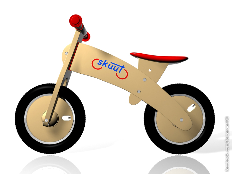 3d Skuut Bike by faizansari90
