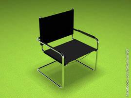 3d Chair by faizansari90