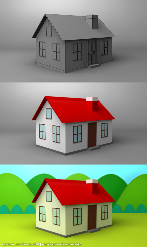 Home - 3ds Max 2010 by faizansari90